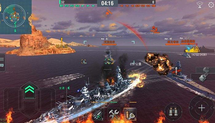 《战舰世界:闪击战》试玩视频-17173新游秒懂
