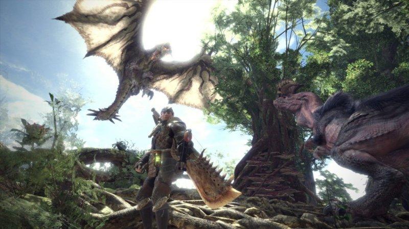 怪物猎人世界实景截图第1张