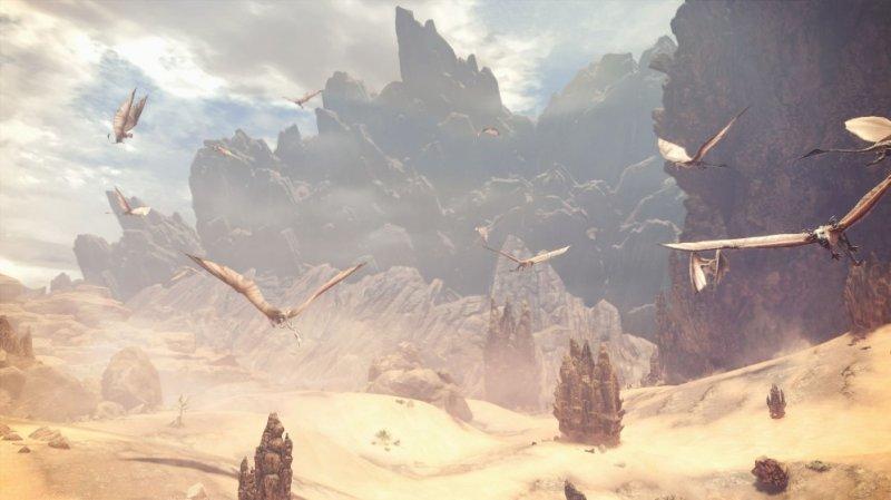 怪物猎人世界实景截图第2张