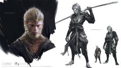 黑神话:悟空游戏原画