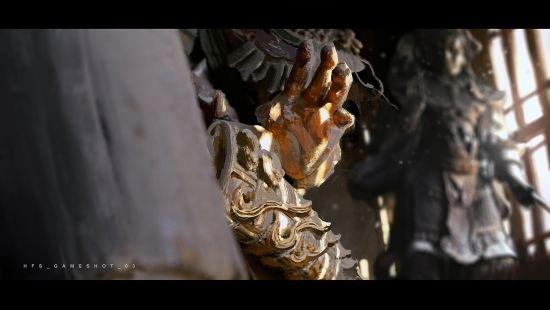 《黑神话:悟空》早期概念图第2张