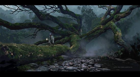 《黑神话:悟空》早期概念图第3张