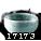 高级山白土器皿